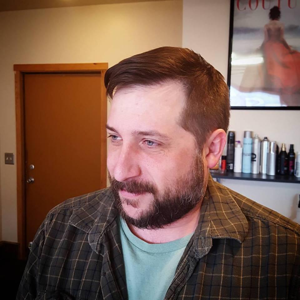 kevin mens hair cut traverse city michigan pinups and needles