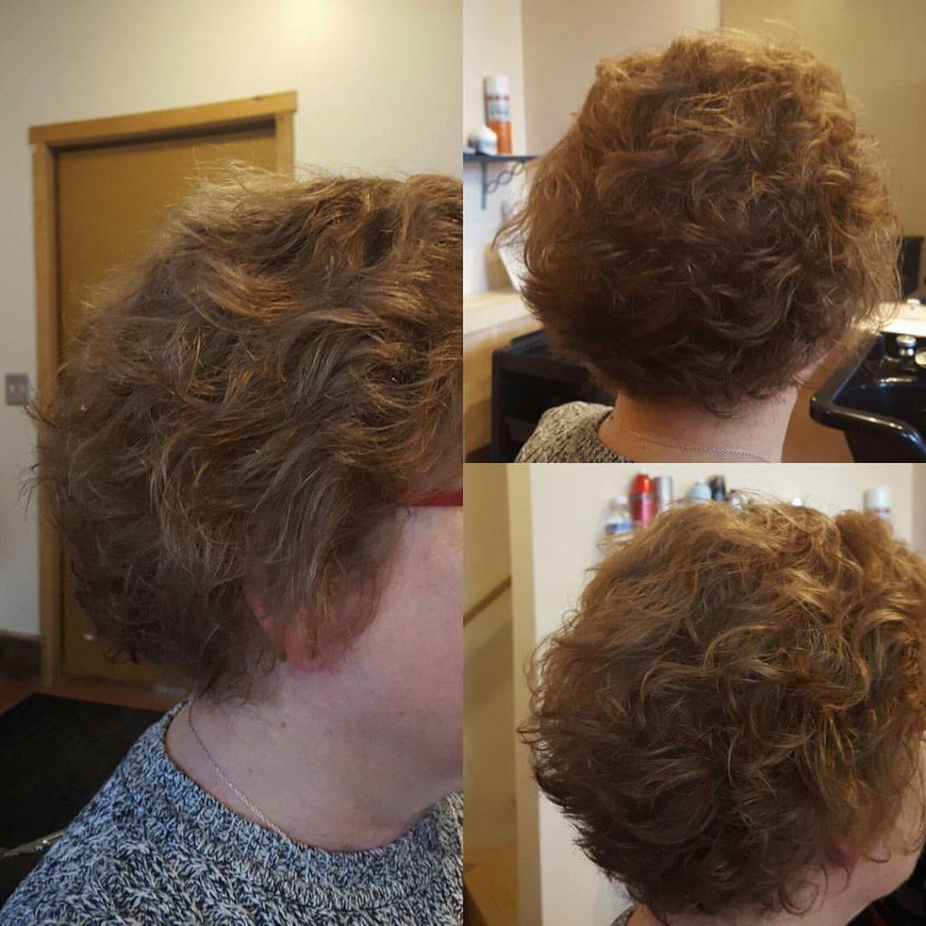 aunt janet womens hair cut traverse city michigan pinups and needles