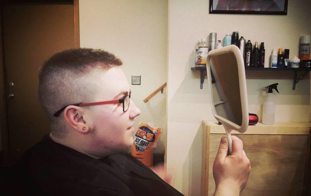 ben mens hair cut traverse city michigan pinups and needles