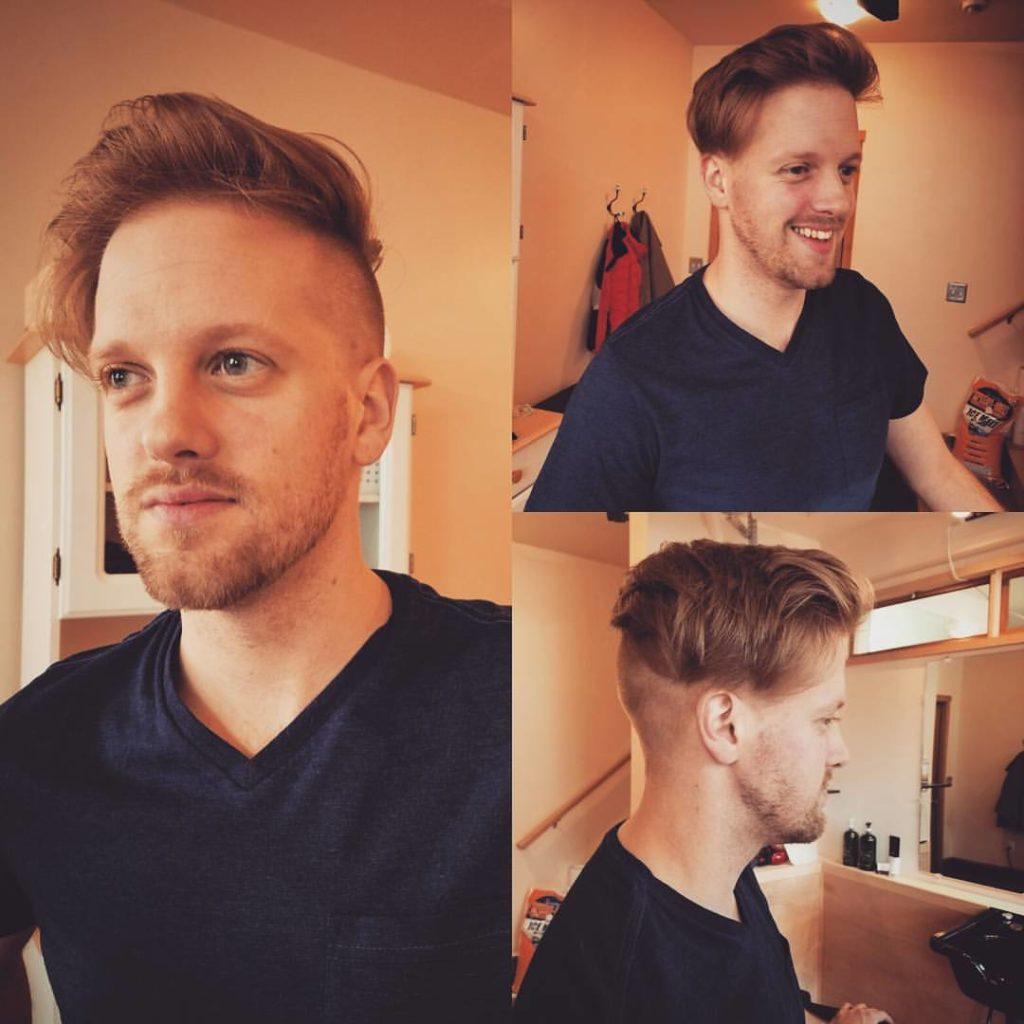 daniel mens hair cut traverse city michigan pinups and needles