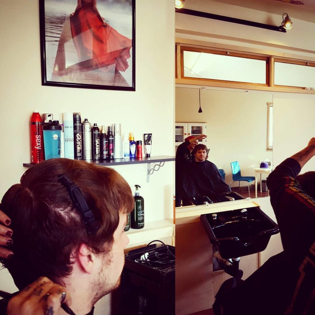 jacob mens hair cut traverse city michigan pinups and needles