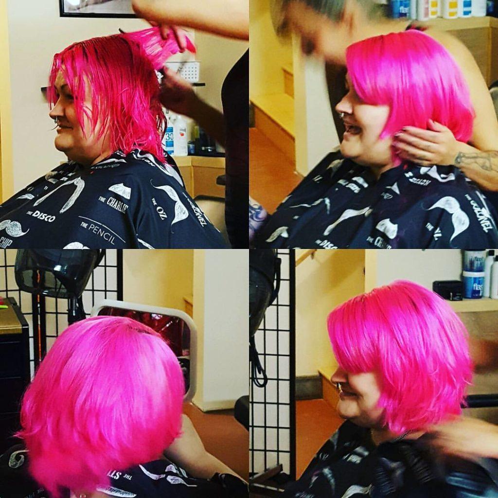 jen womens hair cut traverse city michigan pinups and needles