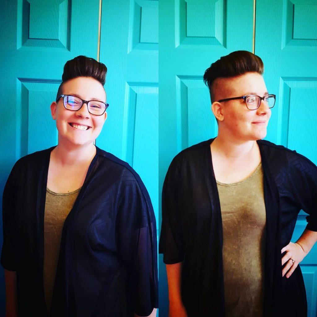 katie womens hair cut traverse city michigan pinups and needles
