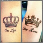 aaron crandall and katie granahan crown tattoos traverse city hair salon beauty salon tatoo parlor norther michigan