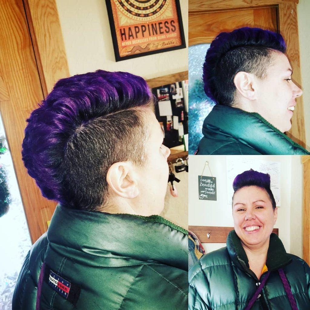 amy conrad mowhawk colorful tattoo parlor traverse city northern michigan beauty hair nail salon