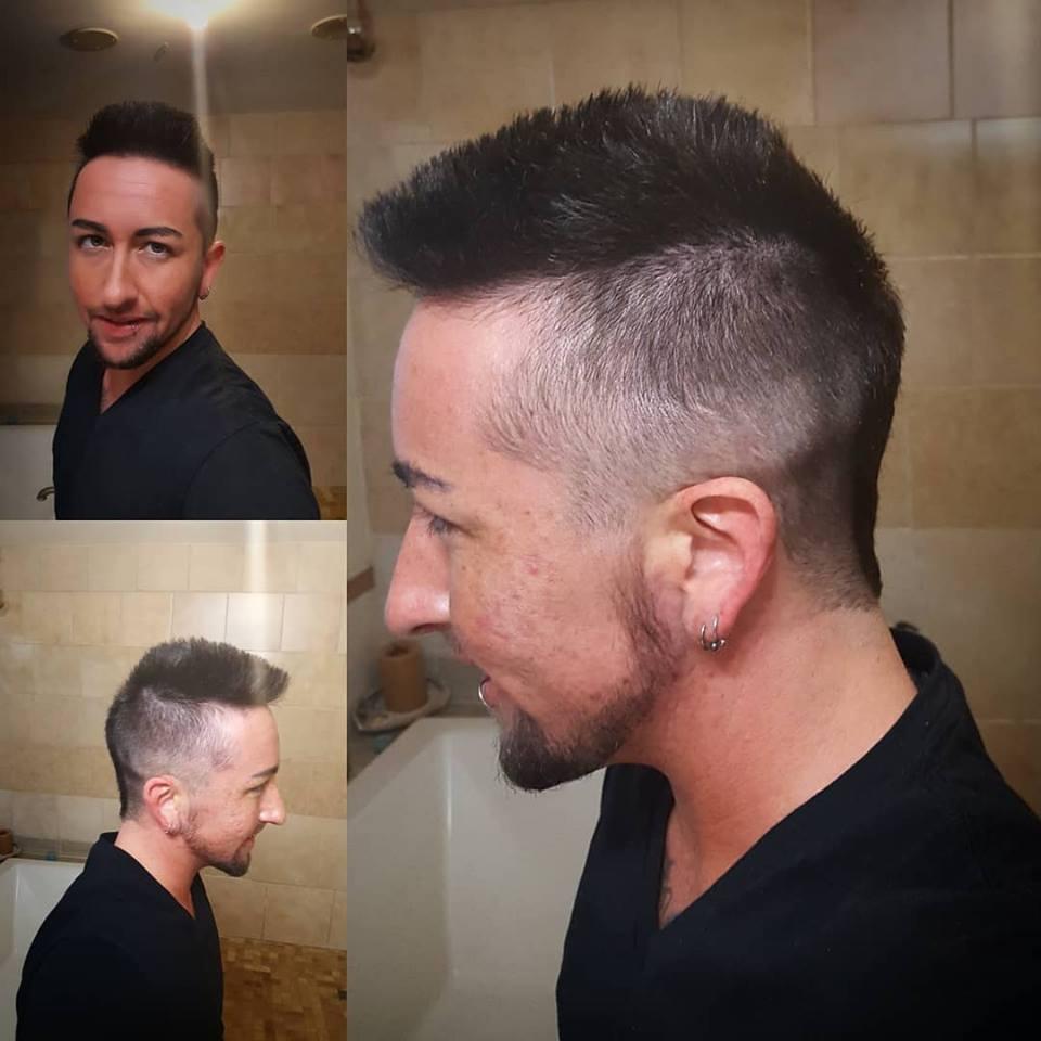 charles comber mens haircut mowhawk tattoo parlor traverse city northern michigan beauty hair nail salon