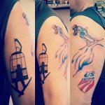 steve taylor ski tattoo 1