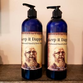 keep it dapper teakwood hand and body wash mens