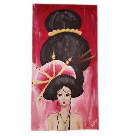 Meili – Acrylic Painting 12×24
