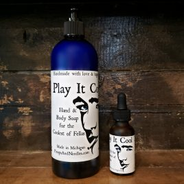 You're So Cool Gift Box Play It Cool: Hand & Body Wash for the Coolest of Fellas Play It Cool: Beard Oil for the Coolest of Fellas