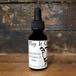 play it cool beard oil