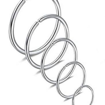 clip on closure round ring