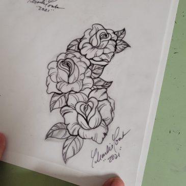 3 Roses Art Timelapse
