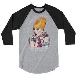 Pinups And Needles Your One Stop Shop 3/4 sleeve raglan shirt