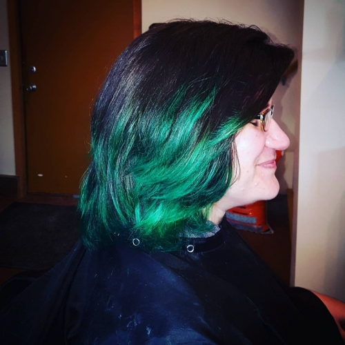 kady lee hair color haircut hair color highlights traverse city michigan pinups and needles