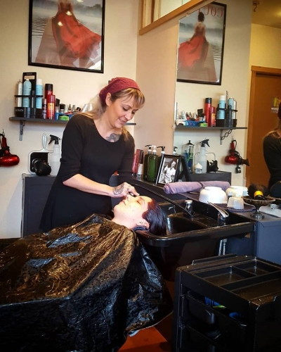 kim highlights haircut tattoo parlor traverse city northern michigan beauty hair nail salon 2