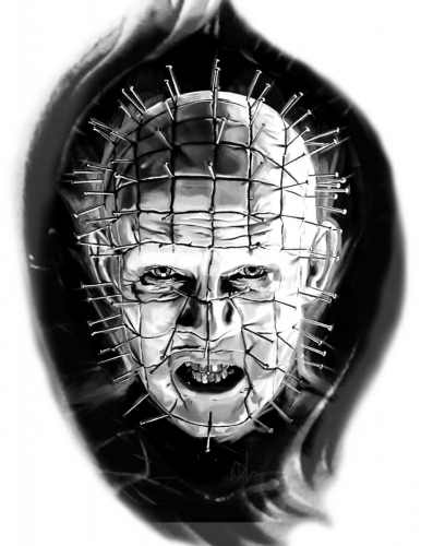 Kayla Virden Pin Head stencil