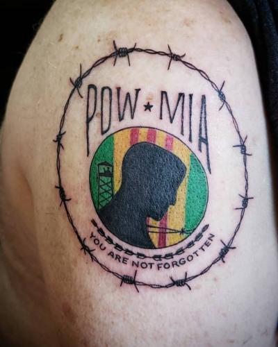 fred barrick veteran tattoo parlor traverse city northern michigan