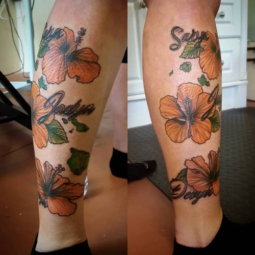 jessica flowers color tattoo parlor traverse city northern michigan