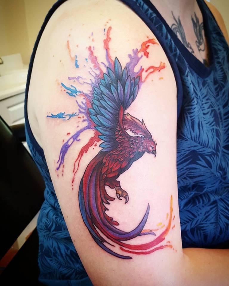 kendra barnes phoenix tattoo